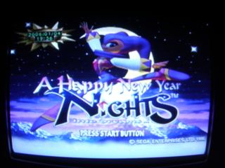 (Happy new year from NiGHTS)